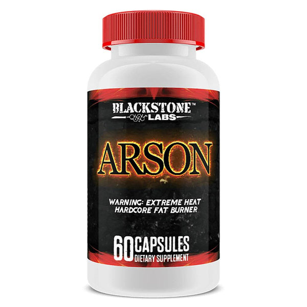 Blackstone Labs Arson 60 Caps Fat Burner Blackstone Labs  (3400186888215)