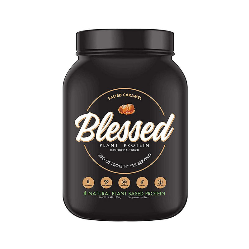 Blessed Plant Protein 2lb Protein Powders Blessed Salted Caramel  (4299978276887)