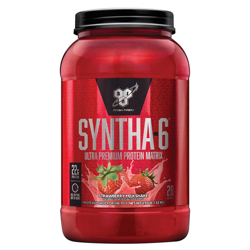 BSN Syntha-6 2.91 Lbs Protein/Protein Blends BSN Strawberry Milk Shake  (10924690243)