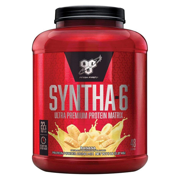 BSN Syntha-6 5.04 Lbs Protein/Protein Blends BSN Banana Cream  (10924689987)