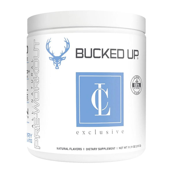 Bucked Up Cara Loren Bucked Up Pre-Workouts Bucked Up Blueberry Pomegranate  (3956971405335)