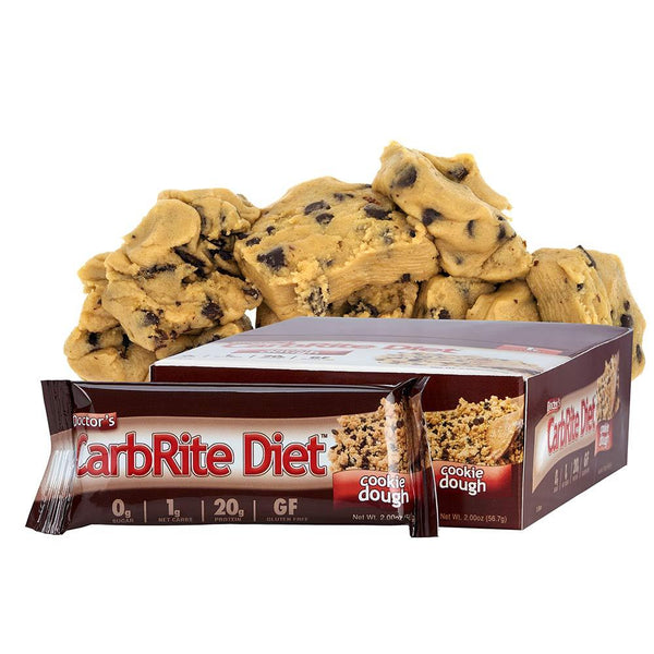 Universal Nutrition Doctors Diet CarbRite Bar 12/Box Protein/Protein Bars Universal Cookie Dough  (10924702467)