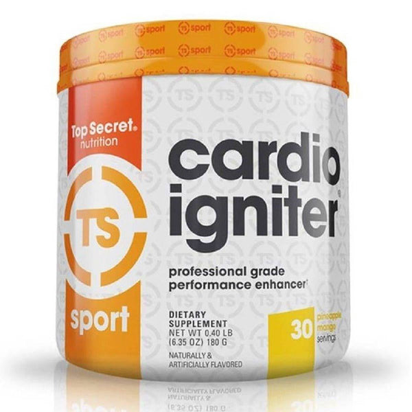 Top Secret Nutrition Cardio Igniter 30 Servings Pineapple Mango 2/19 Expired Top Secret Nutrition  (4199645577239)