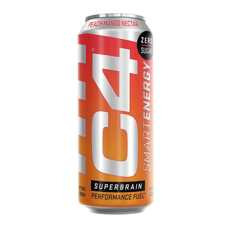 Cellucor C4 Smart Energy Drinks Cellucor Peach Mango Nectar  (4352843087895)
