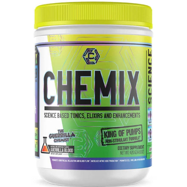 Chemix King of Pumps 20 Servings Sports Performance Recovery Chemix King of Pumps Guerrilla Blood  (4314426638359)