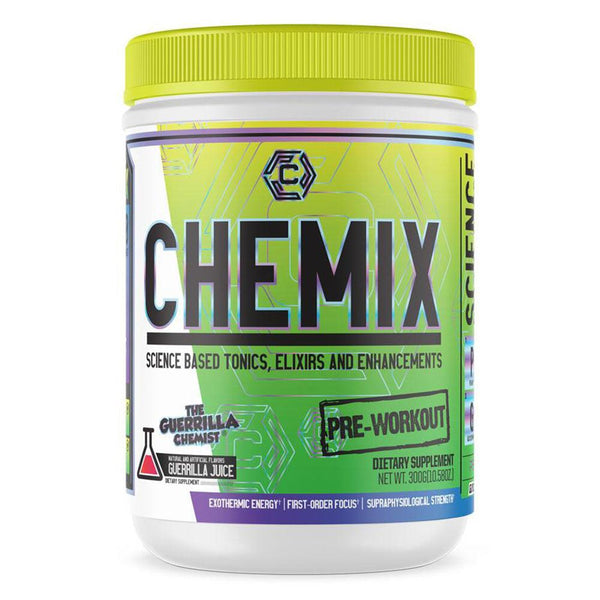 Chemix Pre-Workout 20 Servings Sports Performance Recovery Chemix Guerrilla Juice  (1576773550103)