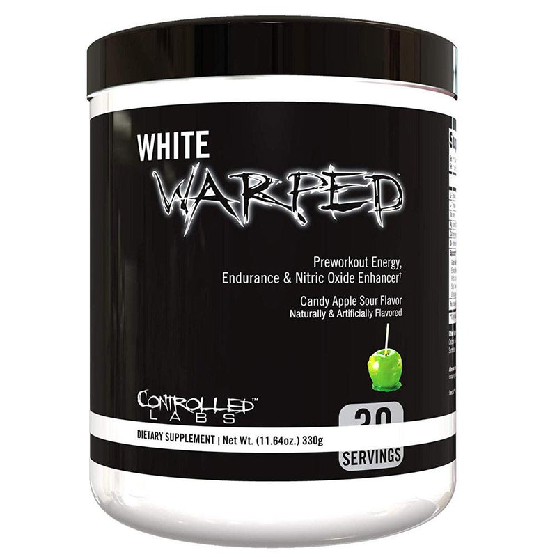 Controlled Labs White Warped 30 Servings Sports Performance Recovery Controlled Labs Candy Apple  (1592420106263)