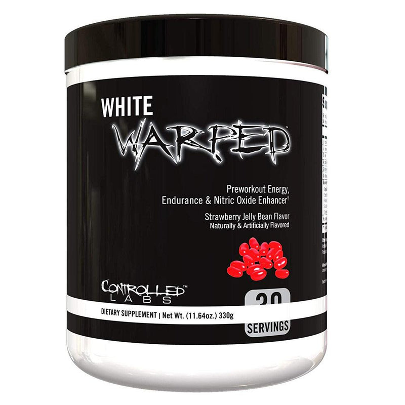 Controlled Labs White Warped 30 Servings Sports Performance Recovery Controlled Labs Strawberry Jelly Beans  (1592420106263)