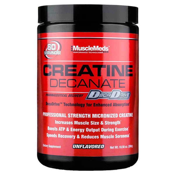 MuscleMeds Creatine Decanate Unflavored 300 Grams Creatine MuscleMeds  (1381447958551)