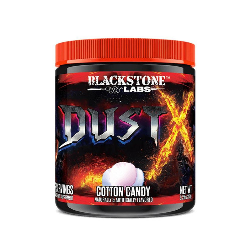 Blackstone Labs Dust X 25 Servings (Was Dust Extreme) Pre-Workout Blackstone Labs Cotton Candy  (1404003483671)