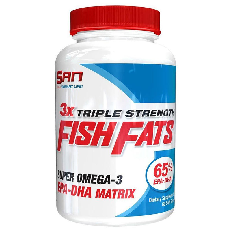 SAN Triple Strength Fish Fats 60 soft gels Health & Wellness/Healthy Fats/DHA SAN  (10031731843)