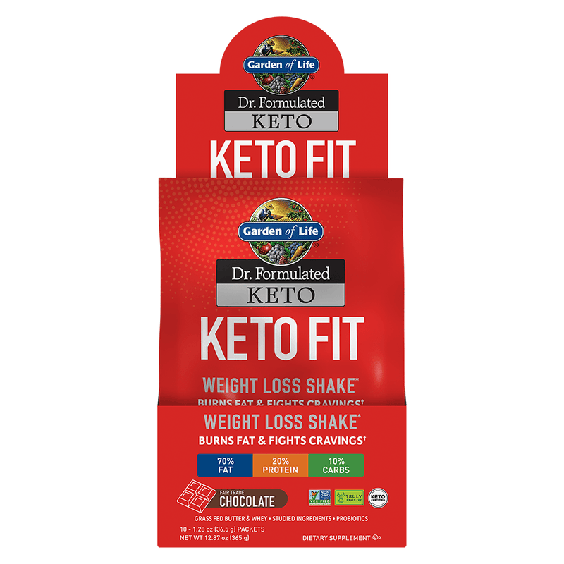 Keto Fit 10 Count Garden Of Life Supplement Warehouse