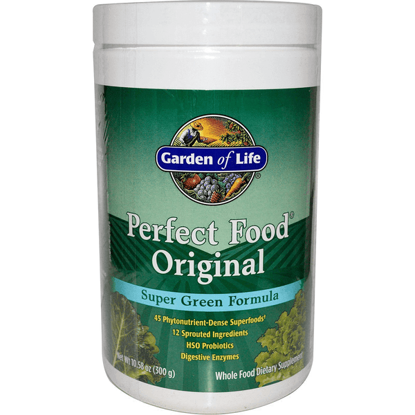 Garden of Life Perfect Food SuperGreen Formula 11/19 Expired Supplement Warehouse  (4393618538519)