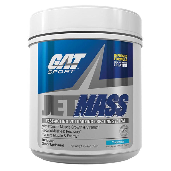 GAT JetMass 30 Servings creatine GAT Tropical Ice  (10974258435)