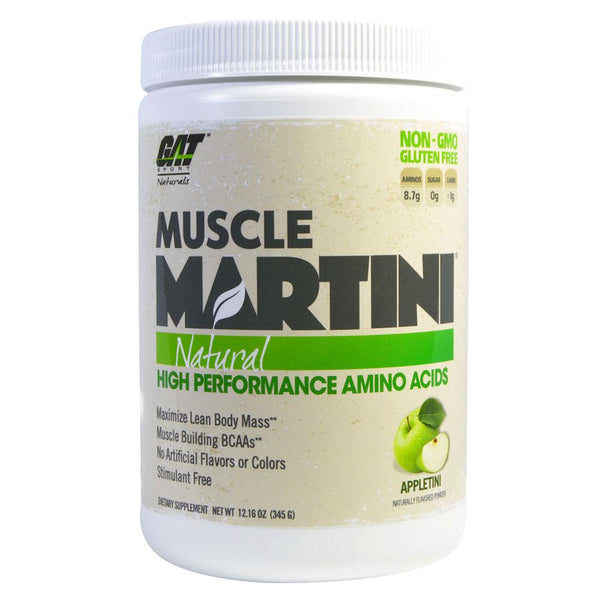 GAT Muscle Martini 30 Servings BCAAs GAT Appletini  (10974258243)