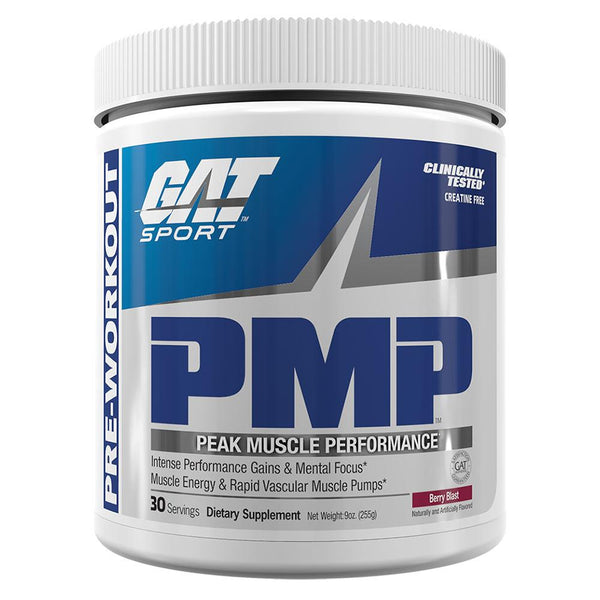 GAT PMP 30 Servings Pre-Workout GAT Berry Blast  (10974255619)