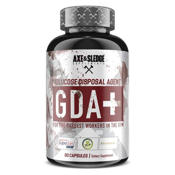 Axe & Sledge GDA+ 90caps Digestive Health AXE & SLEDGE  (3825346936855)