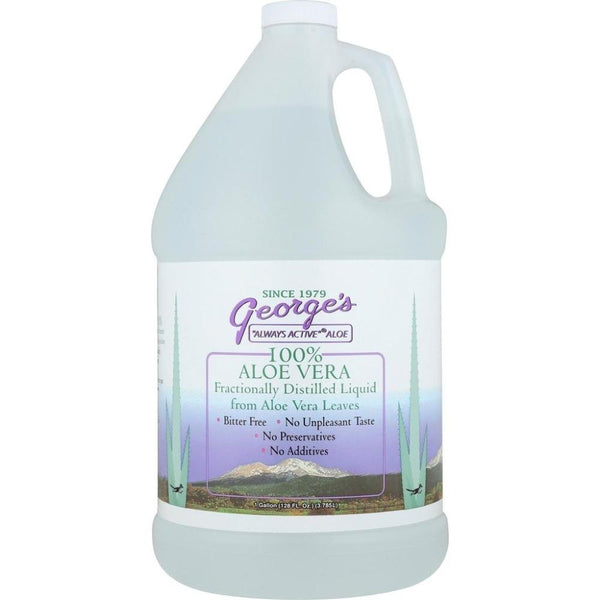George's Aloe Vera Juice 128 Ounces Specialty Health Products George's  (3491242442775)