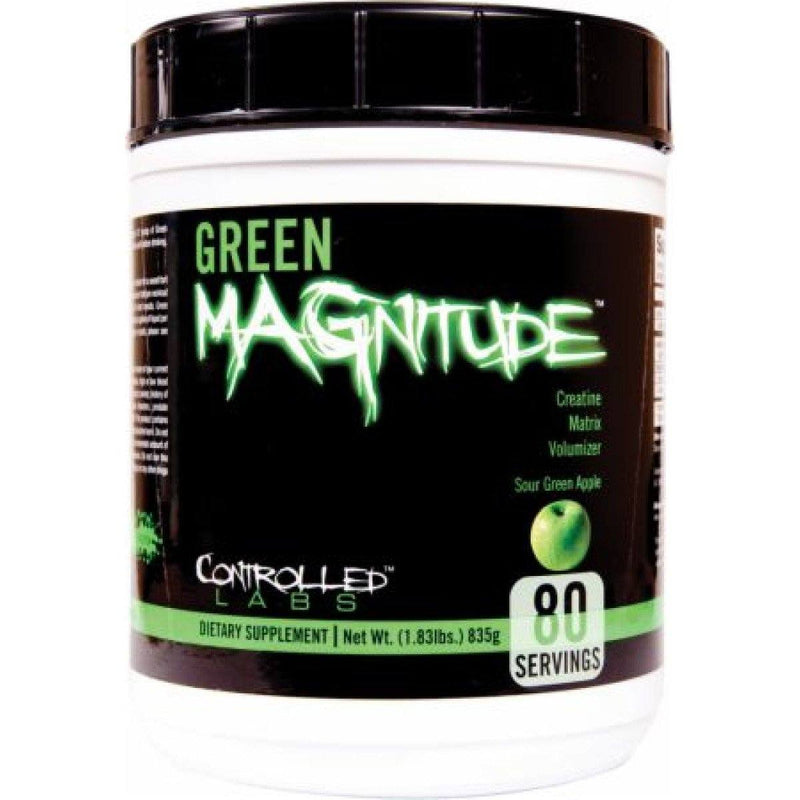 Controlled Labs Green Magnitude 80 Servings Creatine Controlled Labs  (1471317245975)