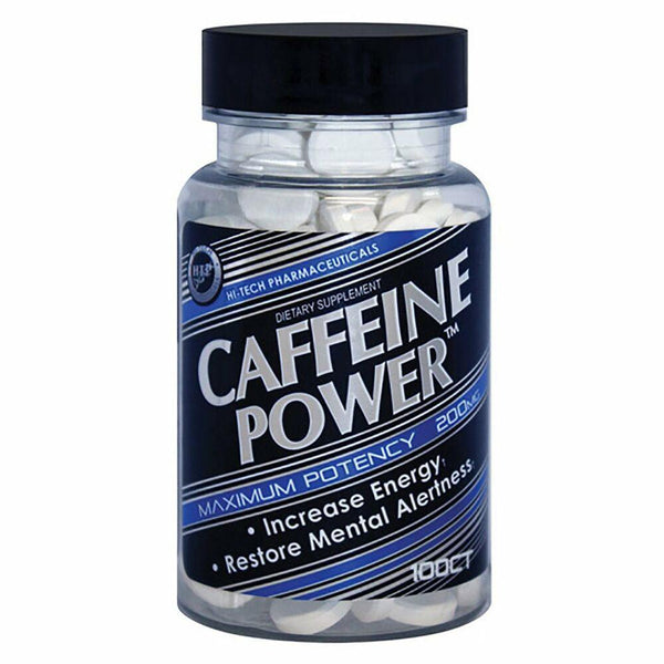 Hi-Tech Pharmaceuticals Caffeine Power™ Diet & Weightloss Hi-Tech Pharmaceuticals 100 CT  (9797549827)