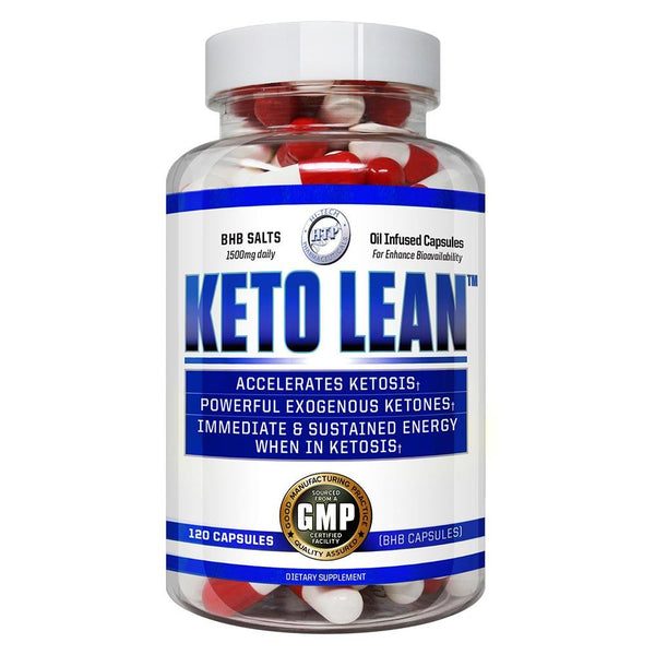 Hi-Tech Pharmaceuticals Keto Lean 120 Caps Fat Burner Hi-Tech Pharmaceuticals  (3927519952919)
