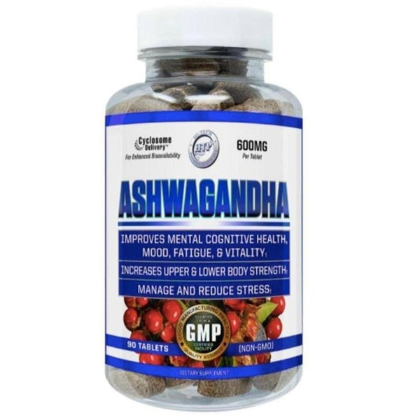 Hi-Tech Pharmaceuticals Ashwagandha 90ct Herbs Hi-Tech Pharmaceuticals  (4401699094551)