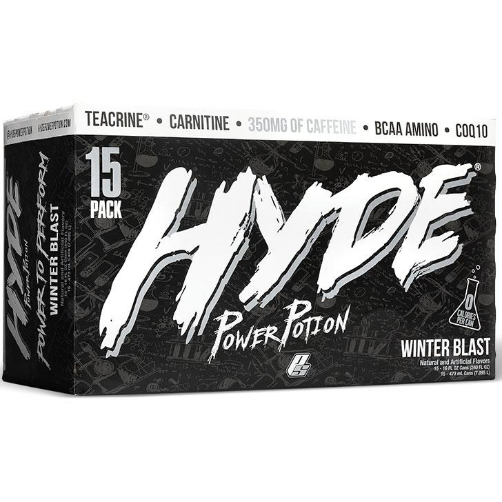 Pro Supps Hyde Power Potion 15/Cans Drinks Pro Supps WINTER BLAST  (1549283688471)