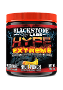 Blackstone Labs Hype Extreme 25 Servings Pre-Workout Blackstone Labs Fruit Punch  (10902838019)