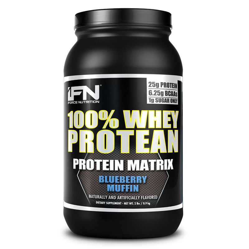 iForce Nutrition 100% WHEY PROTEAN™ Protein IFORCE 2lbs Blueberry Muffin  (9797637827)