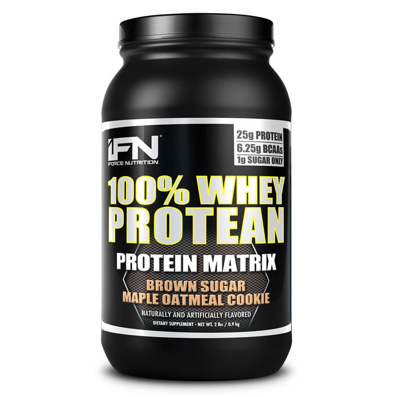 iForce Nutrition 100% WHEY PROTEAN™ Protein IFORCE 2lbs Brown Sugar Maple Oatmeal Cookie  (9797637827)