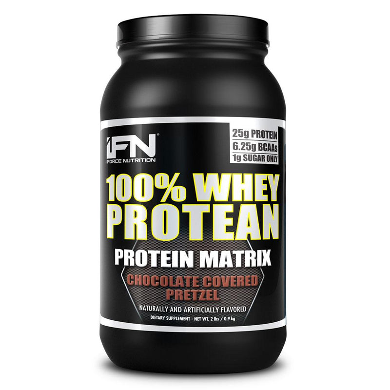 iForce Nutrition 100% WHEY PROTEAN™ Protein IFORCE 2lbs Chocolate Covered Pretzel  (9797637827)