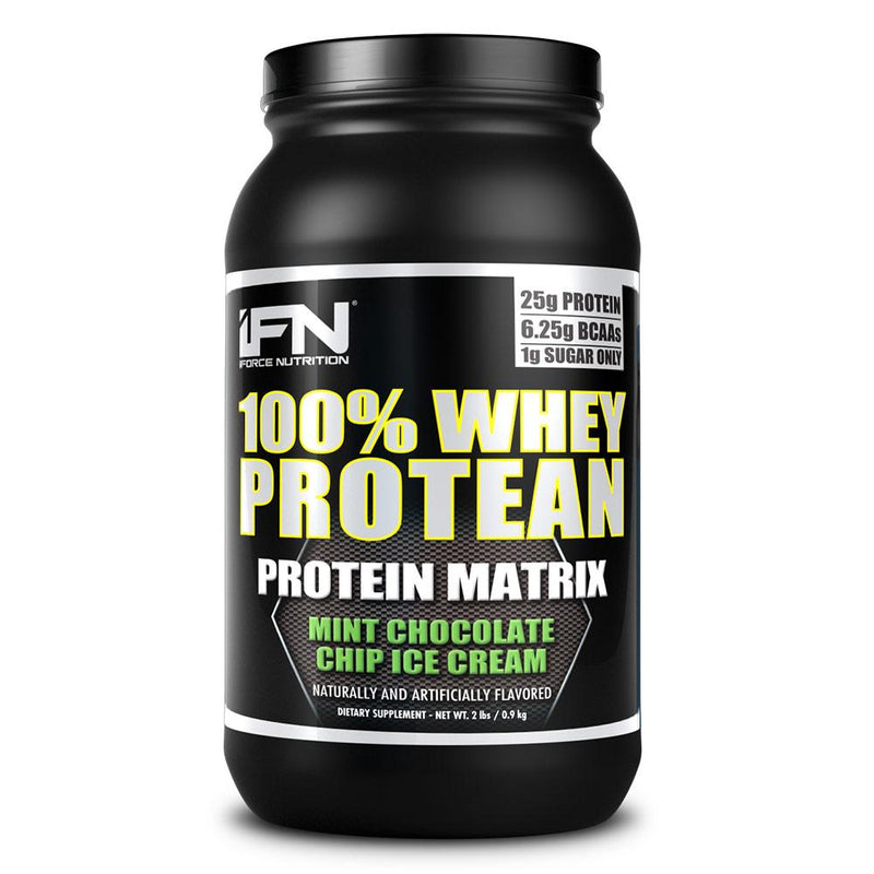 iForce Nutrition 100% WHEY PROTEAN™ Protein IFORCE 2lbs Mint Chip Ice Cream  (9797637827)