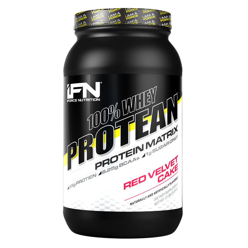 iForce Nutrition 100% WHEY PROTEAN™ Protein IFORCE 2lbs Red Velvet Cake  (9797637827)
