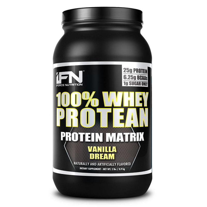 iForce Nutrition 100% WHEY PROTEAN™ Protein IFORCE 2lbs Vanilla Dream  (9797637827)