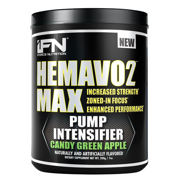 iForce Nutrition HEMAVO2 MAX™ Pre-Workout IFORCE Candy Green Apple 25 svg  (9797639747)