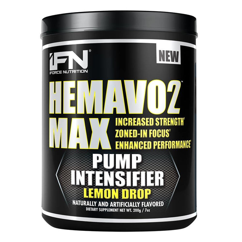 iForce Nutrition HEMAVO2 MAX™ Pre-Workout IFORCE Lemon Drop 25 svg  (9797639747)
