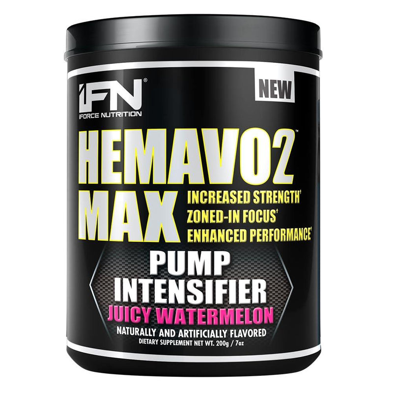 iForce Nutrition HEMAVO2 MAX™ Pre-Workout IFORCE Juicy Watermelon 25 svg  (9797639747)