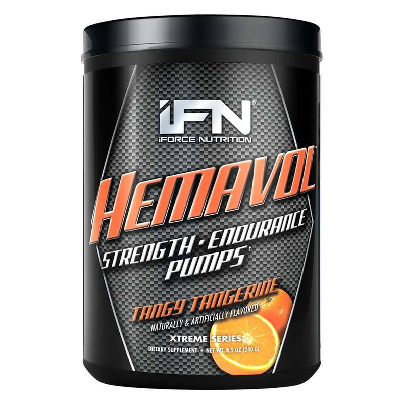 iForce Nutrition HEMAVOL™ Pre-Workout IFORCE Tangy Tangerine 32 svg  (9797628739)