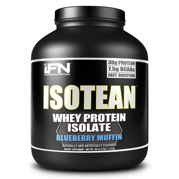 iForce Isotean 5 Lbs Protein Powders IFORCE Blueberry Muffin  (1489692950551)