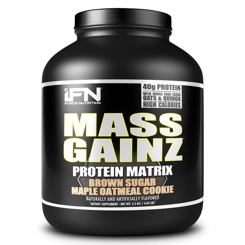iForce Nutrition MASS GAINZ­™ Protein IFORCE 4.85lbs Brown Sugar Maple Oatmeal Cookie  (9797631043)