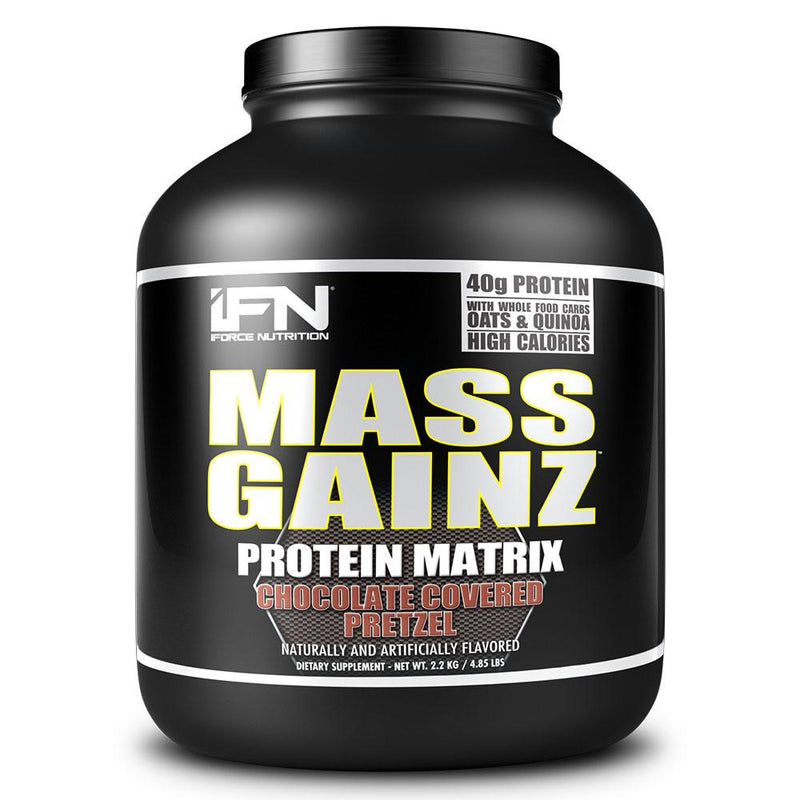iForce Nutrition MASS GAINZ­™ Protein IFORCE 4.85lbs Chocolate Covered Pretzel  (9797631043)