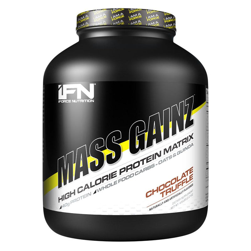 iForce Nutrition MASS GAINZ­™ Protein IFORCE 4.85lbs Chocolate Truffle  (9797631043)