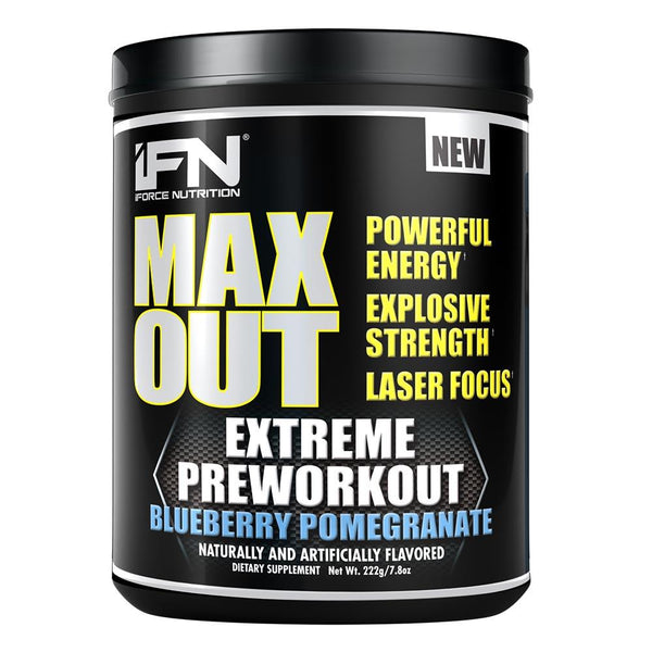 iForce Nutrition MAX OUT™ Pre-Workout IFORCE Blueberry Pomegranate  (9797640899)