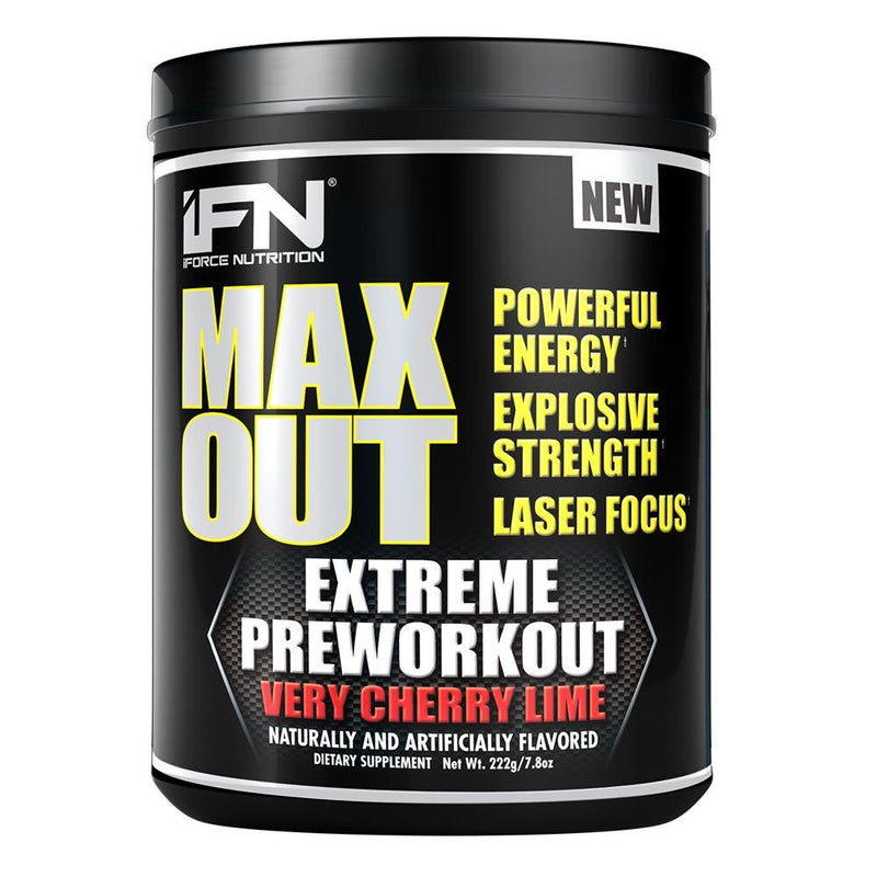 iForce Nutrition MAX OUT™ Pre-Workout IFORCE Very Cherry Lime  (9797640899)