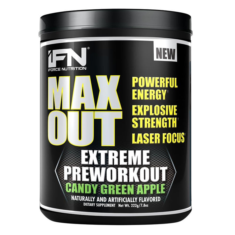 iForce Nutrition MAX OUT™ Pre-Workout IFORCE Candy Green Apple  (9797640899)