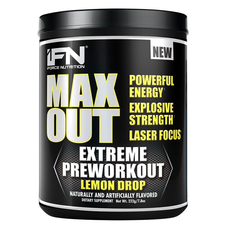 iForce Nutrition MAX OUT™ Pre-Workout IFORCE Lemon Drop  (9797640899)