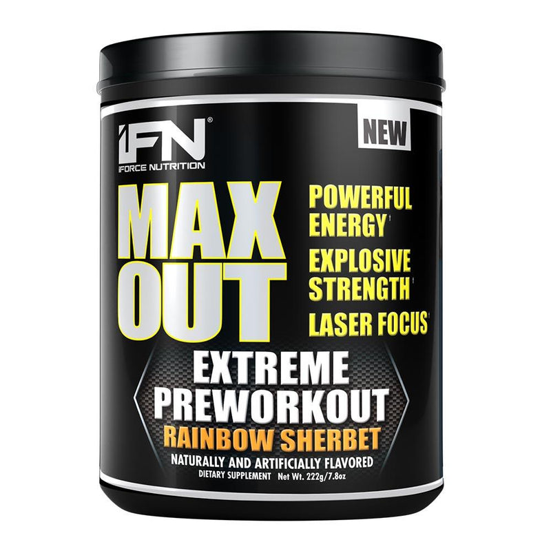 iForce Nutrition MAX OUT™ Pre-Workout IFORCE Rainbow Sherbet  (9797640899)