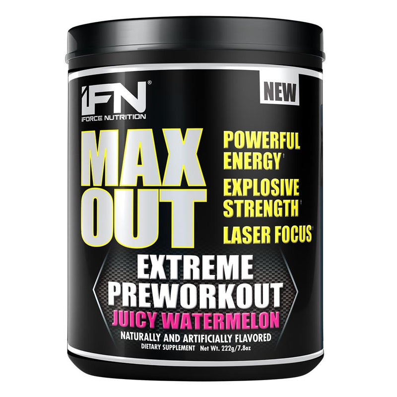 iForce Nutrition MAX OUT™ Pre-Workout IFORCE Juicy Watermelon  (9797640899)