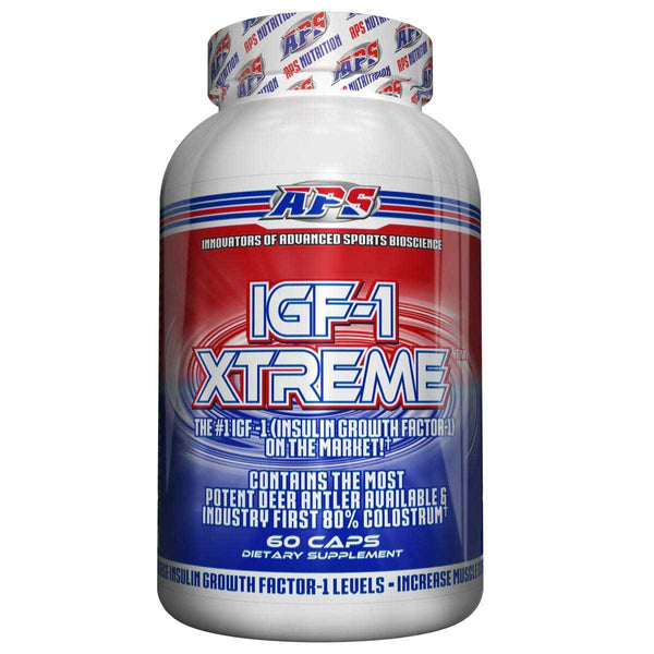 APS Nutrition IGF-1 XTREME 60 Caps Sports Performance & - Recovery APS Nutrition  (1381505957911)