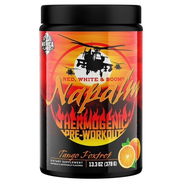 'Merica Labz Red, White & Boom Napalm 20 Servings Pre-Workouts 'Merica Labz Tango Foxtrot